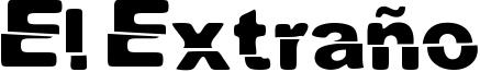 El Extraño Font