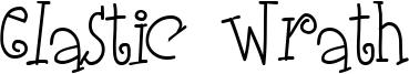 Elastic Wrath Font