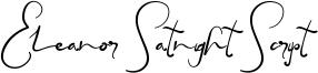 Eleanor Satnight Script Font