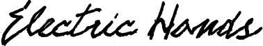Electric Hands Font