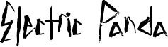 Electric Panda Font