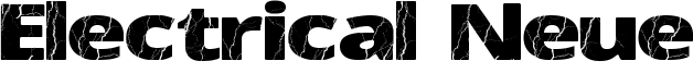 Electrical Neue Font