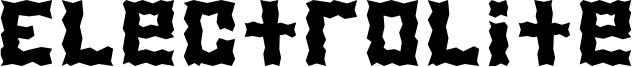 Electrolite Font