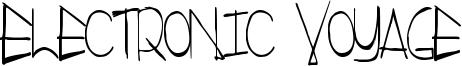 Electronic Voyage Font