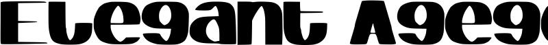 Elegant Agege Font