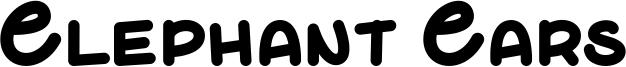 Elephant Ears Font