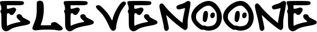 Elevenoone Font
