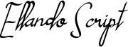 Ellando Script Font