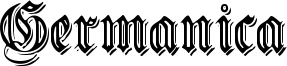 Embossed Germanica.ttf