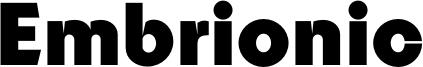 Embrionic Font