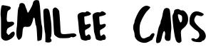 Emilee Caps Font