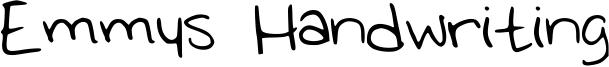 Emmys Handwriting Font