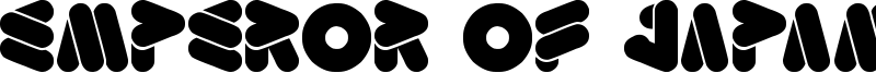 Emperor Of Japan Font