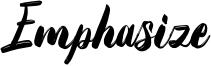 Emphasize Font