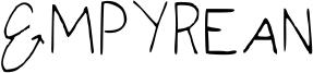 Empyrean Font