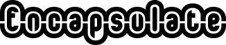 Encapsulate Font