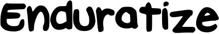 Enduratize Font