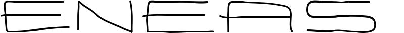 Eneas Expanded Font