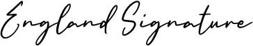 England Signature.otf