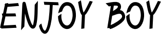 ENJOY_BOY.otf
