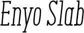 Enyo-Slab_Regular-Italic.otf