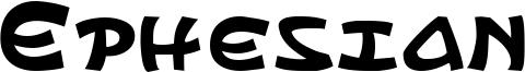 Ephesian Font