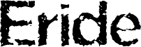Eride Font