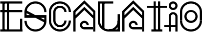 Escalatio Font