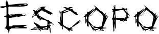 Escopo Font