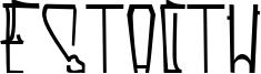Estactu Font