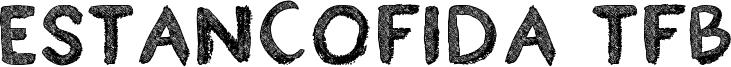 Estancofida TFB Font