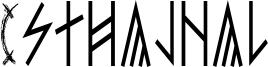 Esthajnal Font