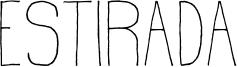 Estirada Font
