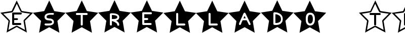 Estrellado TFB Font