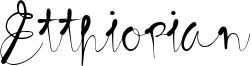Etthiopian Font