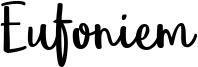 Eufoniem Font