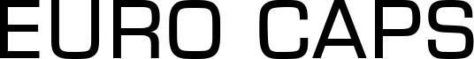 Euro Caps Font