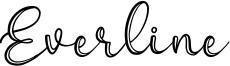 Everline Font