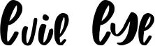 Evil Eye Font