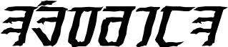 Exodite Distressed Bold Italic.otf