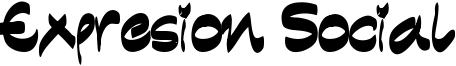 Expresion Social Font