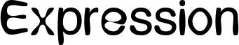 Expression Font