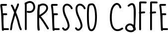 Expresso Caffe Font