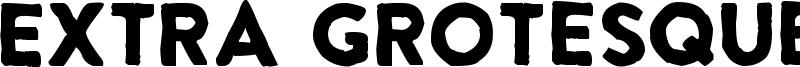 Extra Grotesque Font