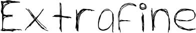 Extrafine Font