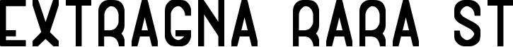 Extragna Rara ST Font