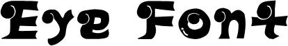 Eye Font Font