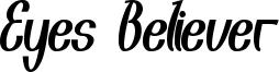 Eyes Believer Font