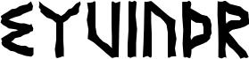 Eyvindr Font
