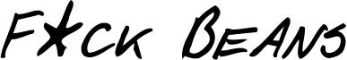 F_ck Beans Italic.ttf